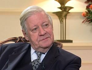 Former German Chancellor Helmut Schmidt once again honorary patron of ZEIT DEBATTEN series