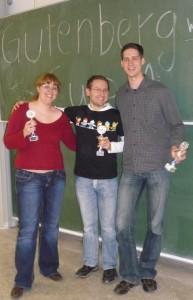 Spaß mit Tom, Jerry und Robin Hood – das war der Gutenberg-Cup 2010