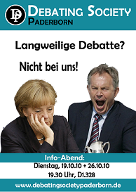 Infoabende der Debating Society Paderborn