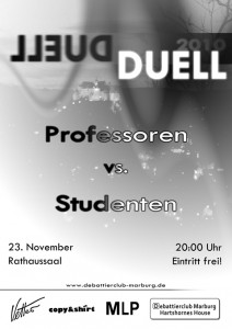 Show debate in Marburg