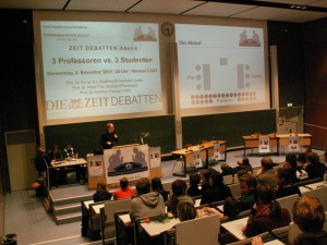 Again the professors won – Retrospection on ZEIT DEBATTEN evening in Jena