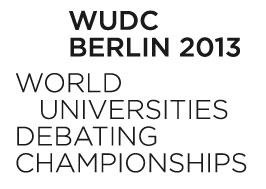 WUDC Berlin 2013 Worlds