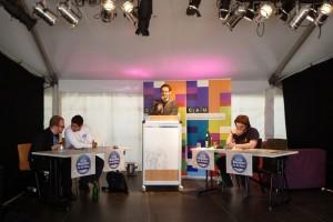 Kieler Debattierclub auf der Kieler Woche
