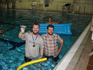 The Winning Team: Manos Moschopoulos & Oskar Avery