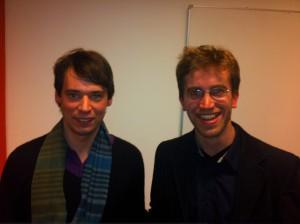 Erschöpft aber glücklich: Jonas Werner und Farid Schwuchow nach dem Gewinn des Einladungsturniers in Berlin