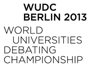 WUDC 2013: Registration for Berlin Worlds