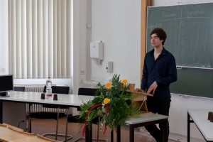 Tobias Kube, Präsident in Marburg, moderierte das Finale