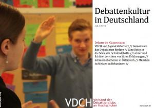 """Auf der Suche nach Gesprächsfähigkeit: Eine Reise in die Seele der Schülerdebatte """"Jugend debattiert"""""""