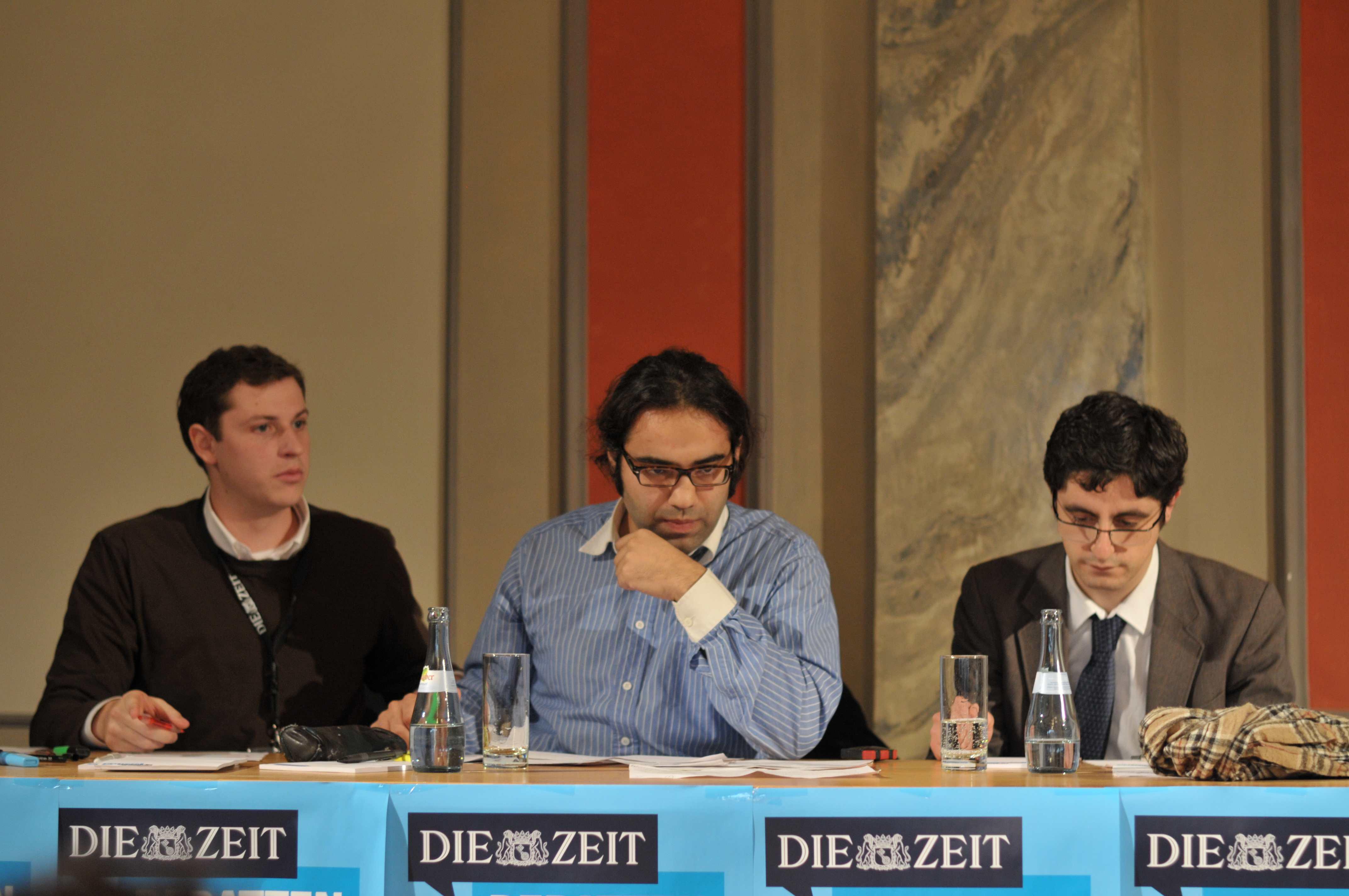 Siegerteam Stuttgart ZEIT DEBATTE Tübingen 2012