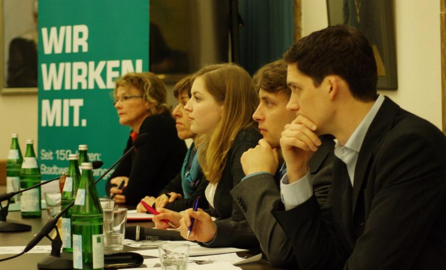 Tübinger Debatte: Die Rednerinnen und Redner stellen sich den Fragen der Öffentlichkeit