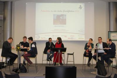 Showdebatte bei der Telekom: Sollen Schüler Unternehmen gründen?