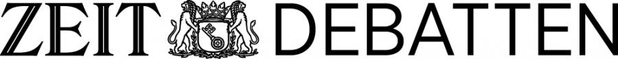 ZEIT Debatten Logo Hintergrund Weiß neu