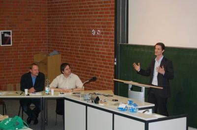 Professoren-Debatte beim Debattierclub Bayreuth