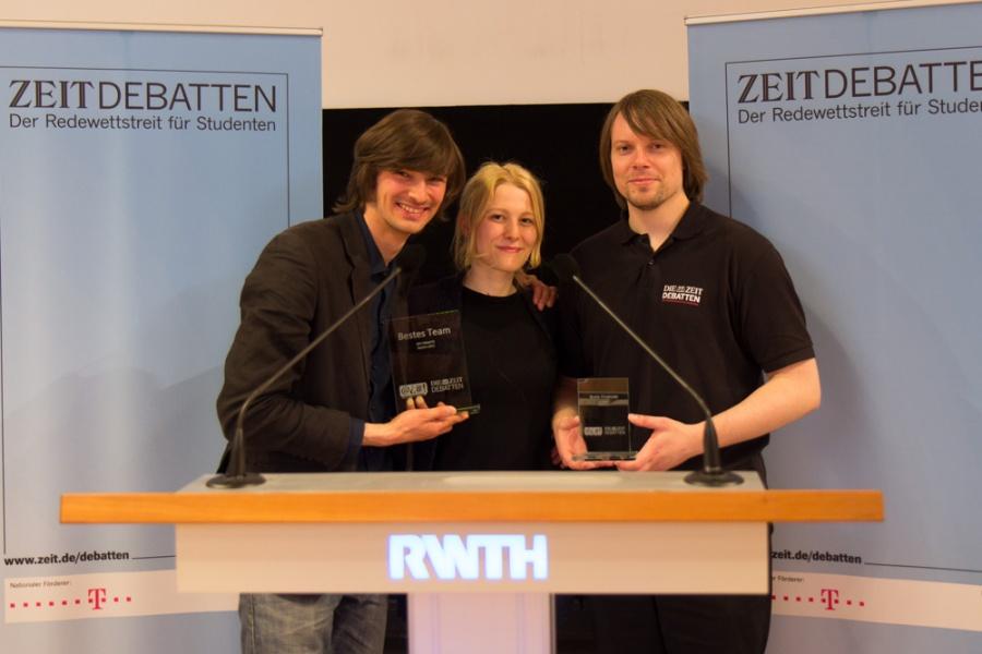 Sieger ZEIT DEBATTE Aachen