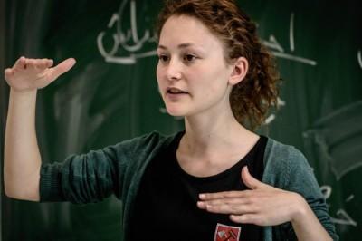 Laut und leise, klein und groß: Felicia Höer ist DDG Nachwuchspreisträgerin
