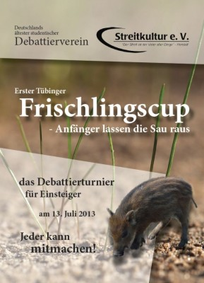 Frischlings-Cup in Tübingen: Das Finale