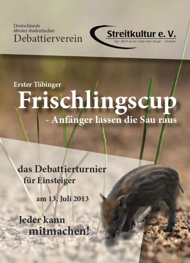 Frischlingscup Flyer