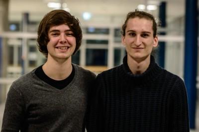 Die Gewinner: Tobias Kube und Ruben Brandhofer