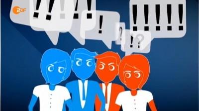 Anders als Schattenboxen: Die zweite Debatte im ZDF