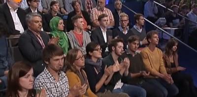Spielte eine große Rolle: Das Studiopublikum (c) Screenshot ZDF Mediathek