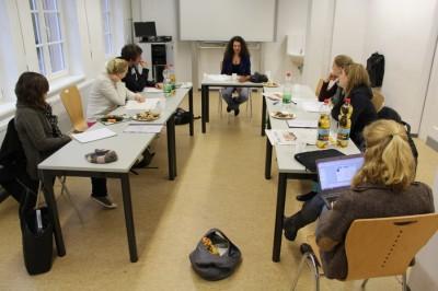 Bei Null beginnen: Felicitas Hoster über das Redaktionsseminar der Achten Minute