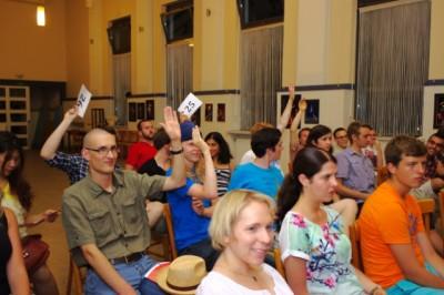 Publikum bei einer Klartext Europa-Debatte (c) C. Krakowiak