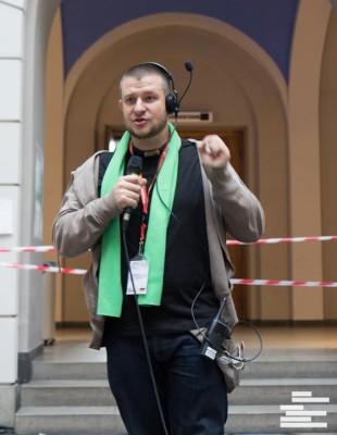 Torsten Rössing bei den WUDC 2013 in Berlin  (c) Henrik Maedler