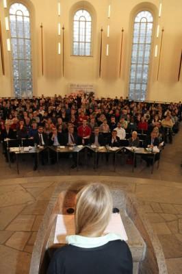 Blick ins Publikum beim Finale der ZEIT DEBATTE Frankfurt in der Paulskirche (c) Florian Umscheid