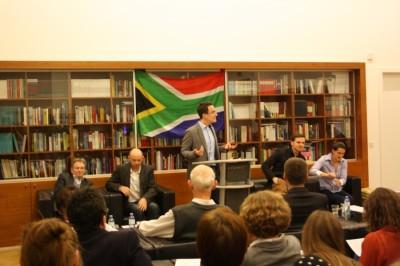 Publikumsdebatte Wien Südafrika