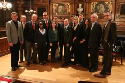 Die Teilnehmer des sechsten Rededuells der Meister in Heidelberg 2013 (c) Till Kroeger