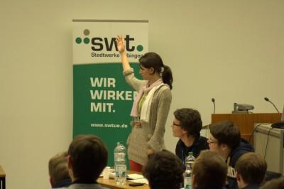 Die Opposition aus Bonn im Finale der Tübinger Herbstdebatten (c) Thomas Schroeter