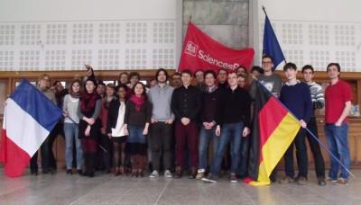 Alle Teilnehmer des Jurierseminars Karlsruhe-Nancy 2014 im Science Po Nancy. (c) Johannes Grygier