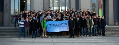 Teilnehmer der ZEIT DEBATTE Dresden 2014 (c) Jan Stöckel