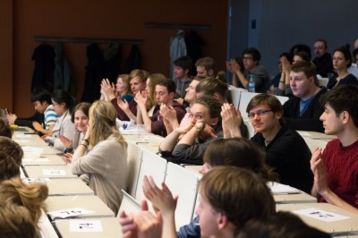 Berlin IV European Debates Conference public debate audience April 11th 2014 (c) Matthias Carcasona