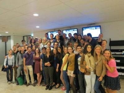 Participants of DAPDI 2013 Copyright: Erasmus Debate Society