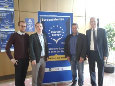 Mehrheit gegen Eurobonds: Die Europadebatte in Köln