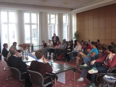 Publikum Klartext Europa Debatte Köln Alter Senatssaal Europadebatten (c) Bürger Europas