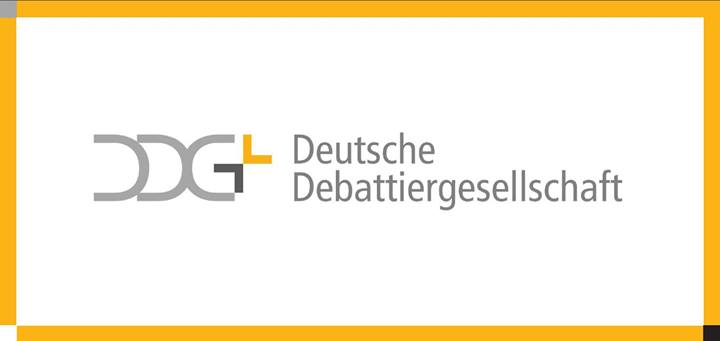 Logo DDG Deutsche Debattiergesellschaft