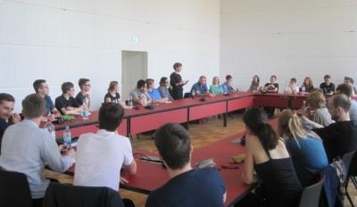 Teilnehmer des Vorbereitungsseminars bei der DDM 2014 (c) S. Kempf