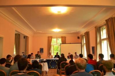 "Die ""Klartext Europa""-Debatte in Bielefeld (c) Bürger Europas"