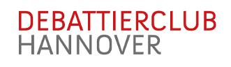 Logo Debattierclub Hannover