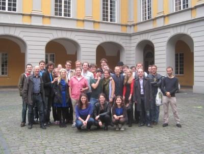 Die Teilnehmer des Methusalem-Cups 2014 in Bonn (c) A. Mattes