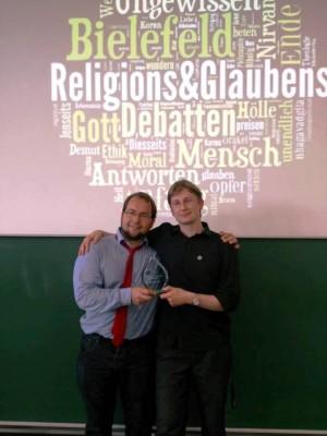 Potsdam Kirchner Hamann Sieger Beilefelder Religions- und Glaubensdebatten 3.8.2014 (c) Frederik Aly