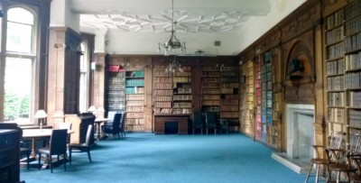 Oxford Union Bibliothek (c) Michael Saliba