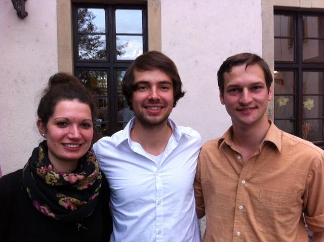 Der neue Vorstand des VDCH: Sarah Kempf, Tobias Kube, Alexander Hiller (v.l.n.r.) (c) Florian Umscheid