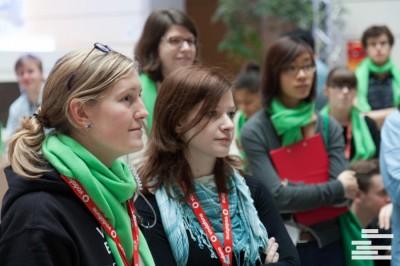 Bei den World Universities Debating Championships 2013 in Berlin war Jana eine der Mitorganisatorinnen. © WUDC Berlin 2013 // Henrik Maedler