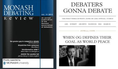 Clickbait für Debattierer