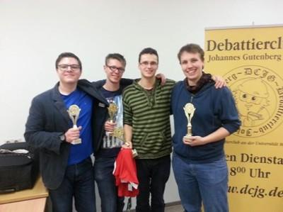 Münster gewinnt den Gutenberg-Cup 2014