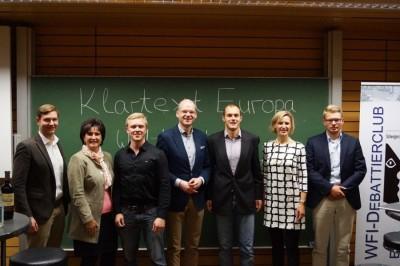 """""""Klartext Europa""""-Debatte in Ingolstadt"""