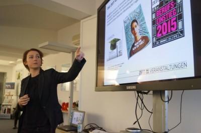 """Zu Gast beim """"Debattierclub, der eine Zeitung nebenher betreibt"""" - Tina Rudolph über den Präsidententag der ZEIT 2014"""